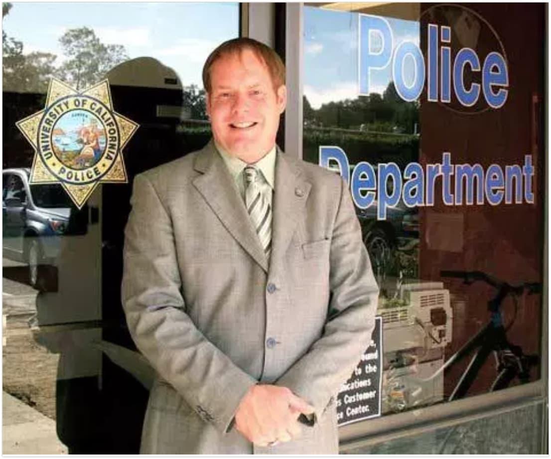 Former Police chief Dustin Olson